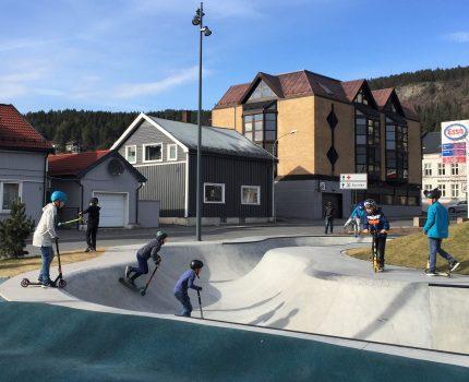 Vi vant byggeskikkpris for Drammen park!