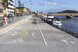 promenade gang og sykkel