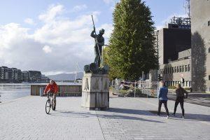 Tømmerfløter statue