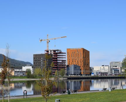 Hotel River Station og Drammen Business Center