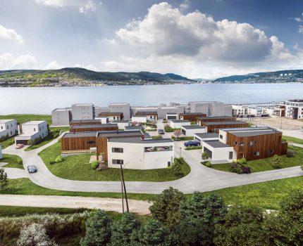 Engersand Fjordpark - byggetrinn 2 settes i gang