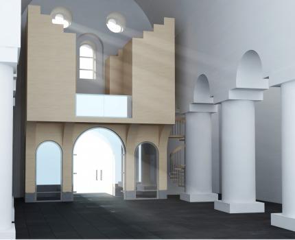 Visualisering Ringsaker kirke